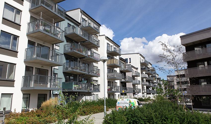 Nybyggnationer från Uppsalahem får bilpool från ourgreencar