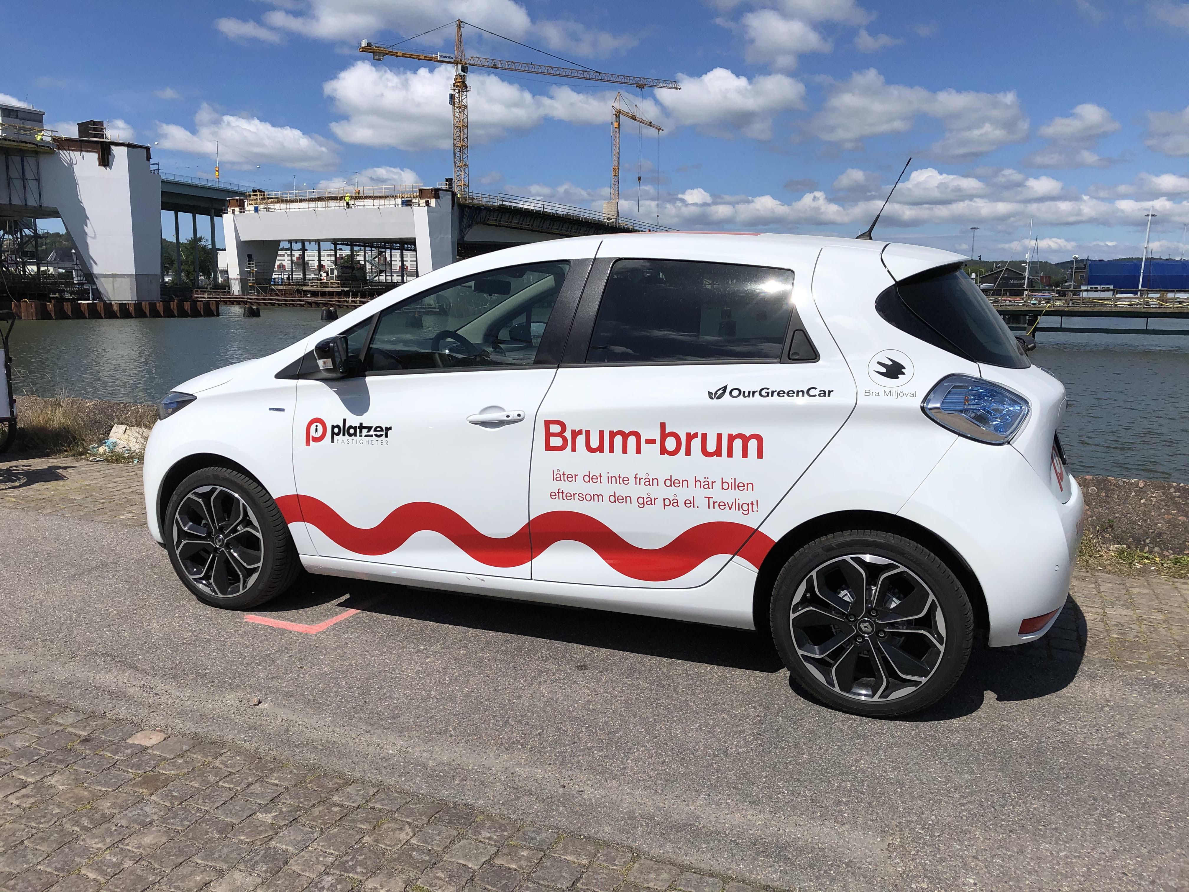 Platzers företagsbilar genom bilpool hos OurGreenCar